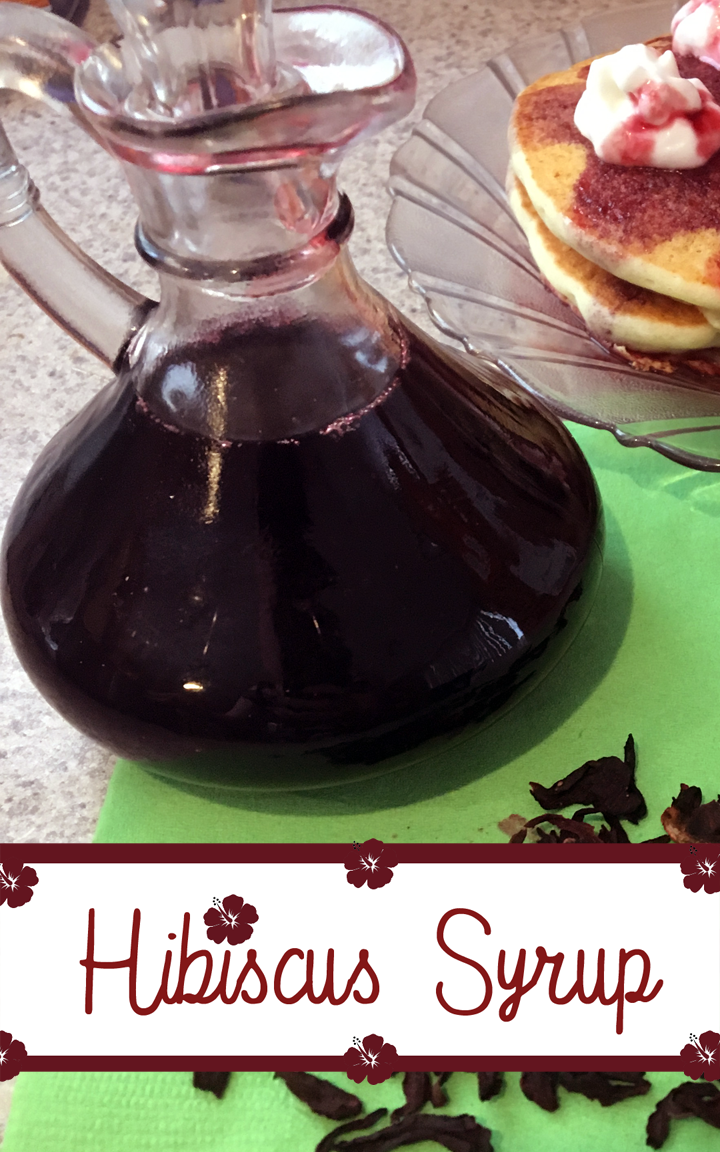 Homemade Hibiscus Syrup Recipe Style Me Fantasy